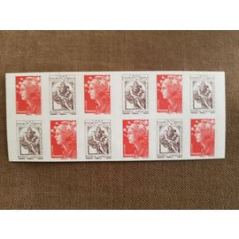Carnet de Timbres prioritaires Marianne