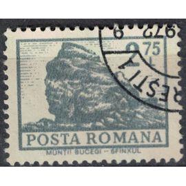 Roumanie 1972 Oblitéré Used Sphinx des Montagnes Bucegi Carpates SU