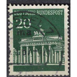 Allemagne 1966 Oblitéré Used Porte de Brandebourg Gate Berlin SU