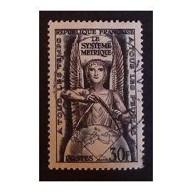 France oblitéré Y et T N° 998 de 1954 cote 5.50