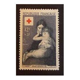 France oblitéré Y et T N° 1006 de 1954 cote 12.50