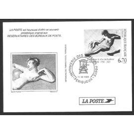 Epreuve de timbre offert aux réservataire de timbres en bureau de poste