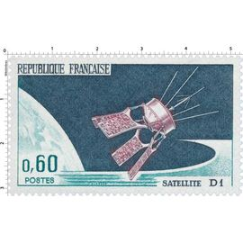Timbre : SATELLITE D1 , neuf **