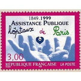 timbre Assistance Publique Hopitaux de Paris
