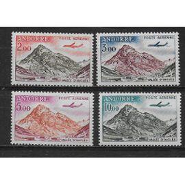 ANDORRE FRANCAIS POSTE AERIENNE 1961 : Vallée d