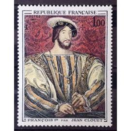Jean Clouet - François 1er 1,00 (Impeccable n° 1518) Neuf** Luxe (= Sans Trace de Charnière) - France Année 1967 - N28011
