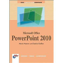 Microsoft Office PowerPoint  2010 - Saskia Gießen