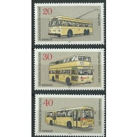 Timbres Berlin Allemagne Fédérale 1973 transports Berlinois neufs** n° 420 421 422