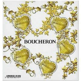 saint valentin : coeur boucheron (lierre) bloc feuillet 146 année 2019 n° 5292 yvert et tellier luxe
