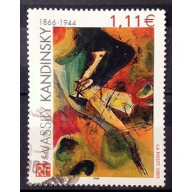 Vassily Kandinsky - Tableau du Peintre 1,11€ (Joli n° 3585) Obl - France Année 2003 - N26652