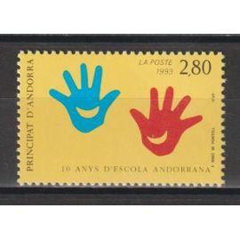 andorre français, 1993, dix ans d