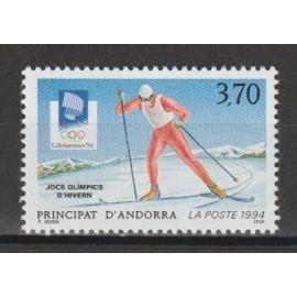 andorre français, 1994, jeux olympiques d