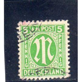 Timbre-poste d'Allemagne (Bizone)