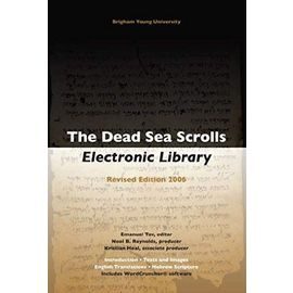 The Dead Sea Scrolls Electronic Library [With Booklet] - Emanuel Tov
