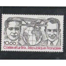 hommage aux aviateurs Costes et le Brix