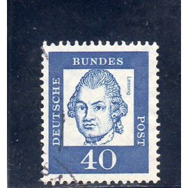 Timbre-poste d'Allemagne (République Fédérale)