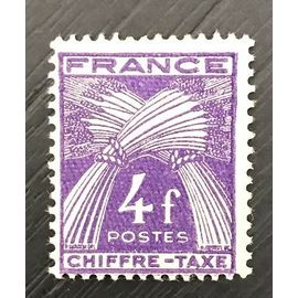 Timbre taxe France neuf luxe* yt 74