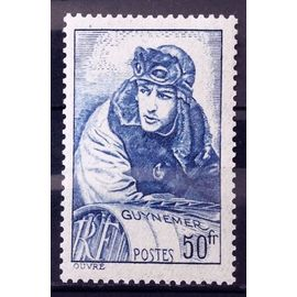Capitaine Aviateur Guynemer 50f (Superbe n° 461) Neuf*/** - Cote 10,00€ - France Année 1940 - N27801