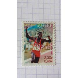 Lot n°972 ■ timbre oblitéré france n ° 3313 ---- 3f ( 0.46 ) multicolore