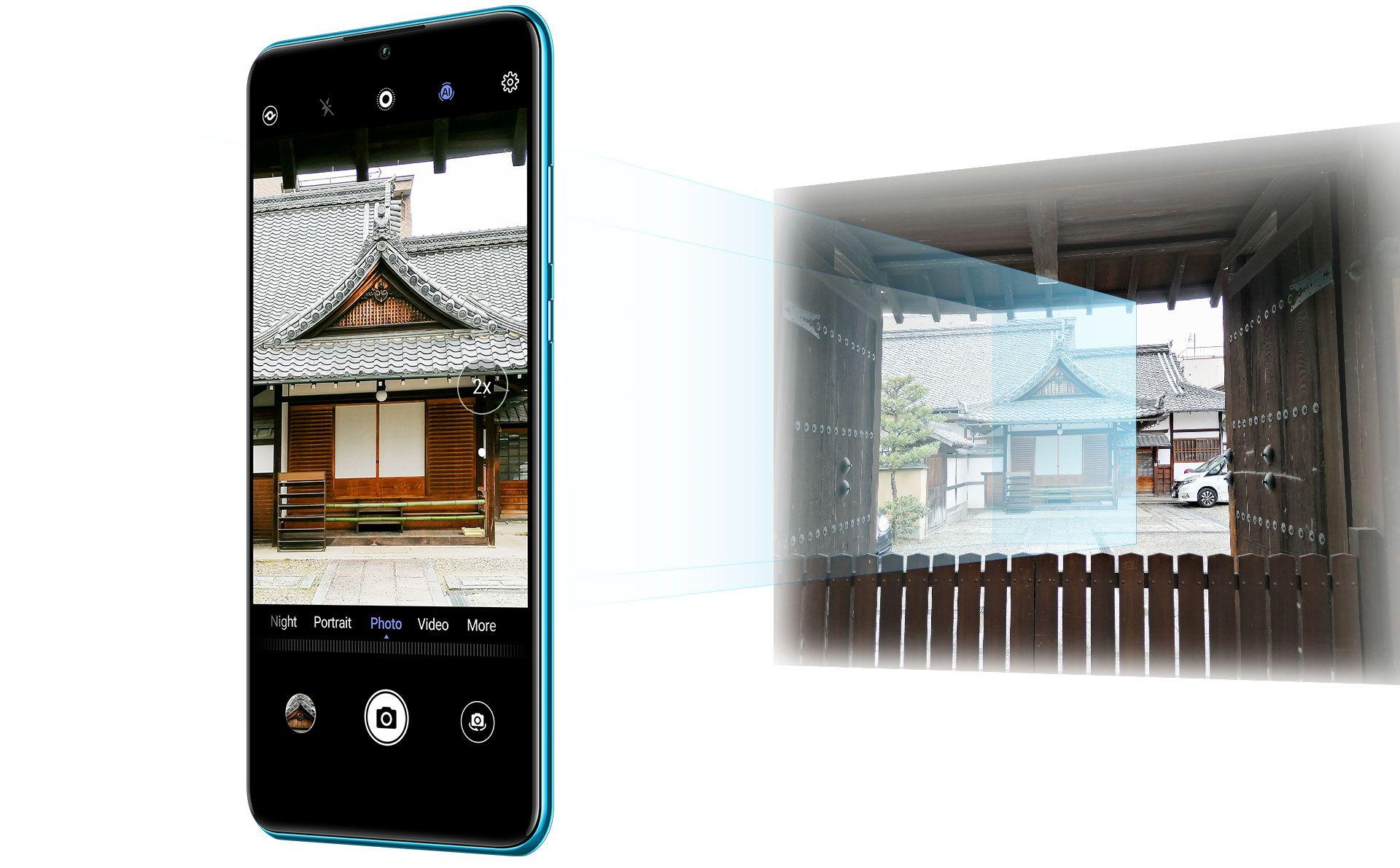 Huawei P30 lite 128 Go Double SIM Noir minuit image 2   Rakuten
