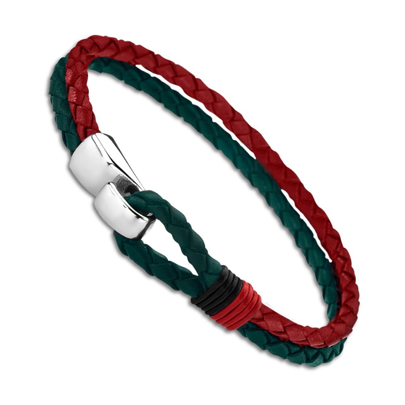 Chat de Fenêtre Verre Cabochon Bracelet Tressé Bracelet En Cuir Bracelets