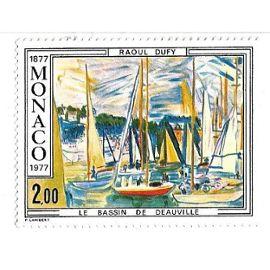 Raoul Dufy - Le Bassin de Deauville - Monaco 1877/1977 (2,00)