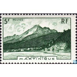 5 Frcs Montagne Pelée 1947 n°236