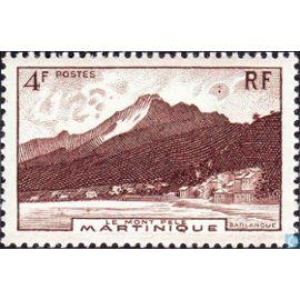 6 Frcs Montagne Pelée 1947 n°235