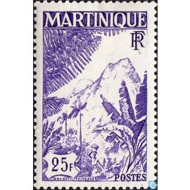 25 Frcs Montagne Carbet 1947 N° 241