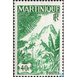 40 Frcs Montagne Carbet 1947 N° 242