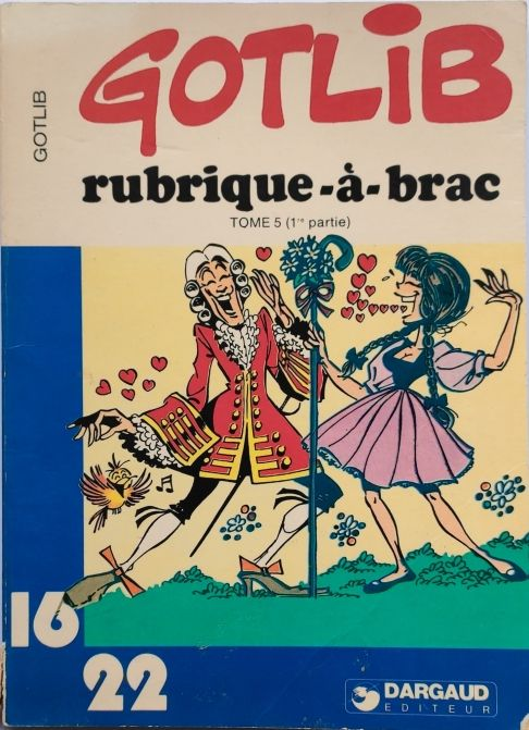 Rubrique a brac tome 5 - Dargaud - 01/01/1982