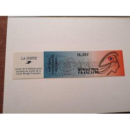 Carnet De 6 Timbres Bicentenaire De La Revolution Francaise 1989
