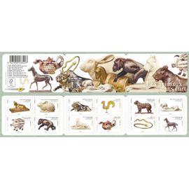 france 2013, très belle bande carnet neuve** luxe yvert BC 775, les animaux dans l
