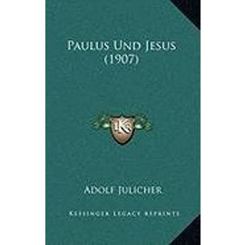 Paulus Und Jesus (1907) - Unknown