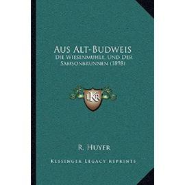 Aus Alt-Budweis: Die Wiesenmuhle, Und Der Samsonbrunnen (1898) - Unknown