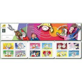 france 2014, très belle bande carnet yvert 1045, bonne année, 12 timbres neufs** luxe auto-adhésifs validité permanente pour collection ou affranchissement.