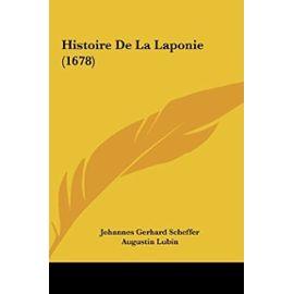 Histoire de La Laponie (1678) - Unknown