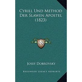 Cyrill Und Method Der Slawen Apostel (1823) - Unknown