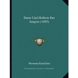 Durer Und Holbein Der Jungere (1895) - Unknown
