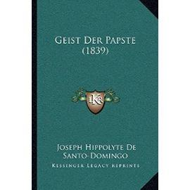 Geist Der Papste (1839) - Unknown
