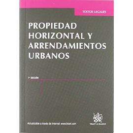 Clemente Meoro, M: Propiedad horizontal y arrendamientos urb