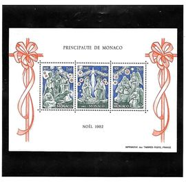MONACO-1982-N° 23-NOEL -TIMBRES NEUFS** -GOMME INTACTE- 1 ER CHOIX