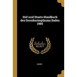 GER-HOF-UND STAATS-HANDBUCH DE