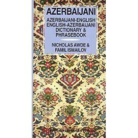 Aserbaidschanisch - Englisch und Englisch - Aserbaidschanisch Wörterbuch / Azerbaijani - English and English - Azerbaijiani Dictionary: 8000 Stichwörter (Livre en allemand) - Unknown