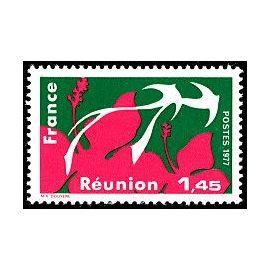 timbre La Réunion. Régions administratives (emission de 1977)