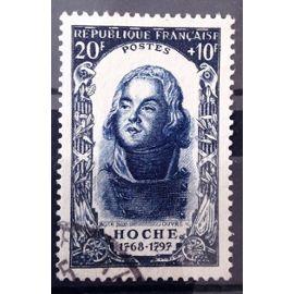 Célébrités 1950 - XVIIIème Siècle - Hoche 20f+10f Bleu (Très Joli n° 872) Obl - Cote 17,00€ - France Année 1950 - N11028
