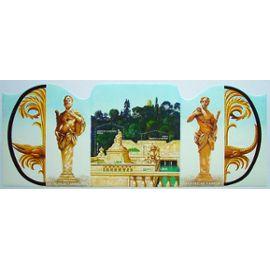 Bloc-feuillet YT n°84 - Le salon du timbre 2006, Jardins de France