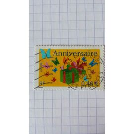 Lot n°1114 ■ timbre oblitéré france n ° 3480 ---- 0.46€ multicolore