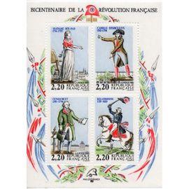 Bicentenaire de la Révolution Française Personnages célèbres de la Révolution