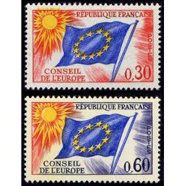 france 1965, très beaux timbres de service neufs** luxe du conseil de l